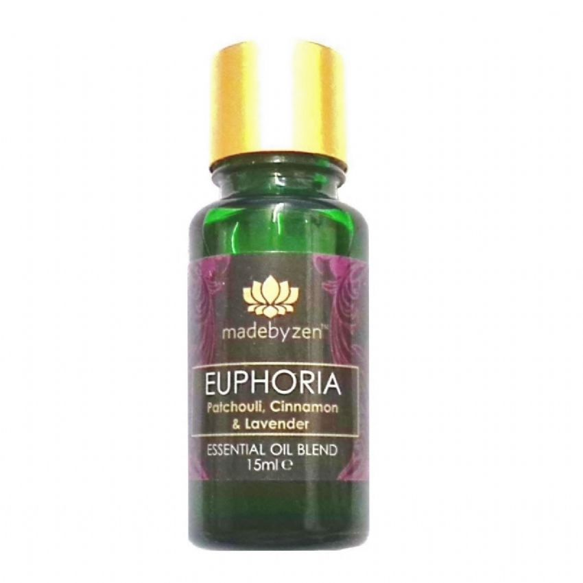 EUPHORA Purity Range - Scented Essential Oil Blend Made By Zen 15ml
